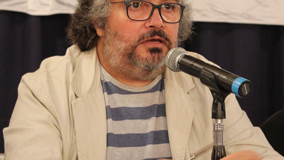 Daniel Yofra, secretario general de la Federación de Aceiteros