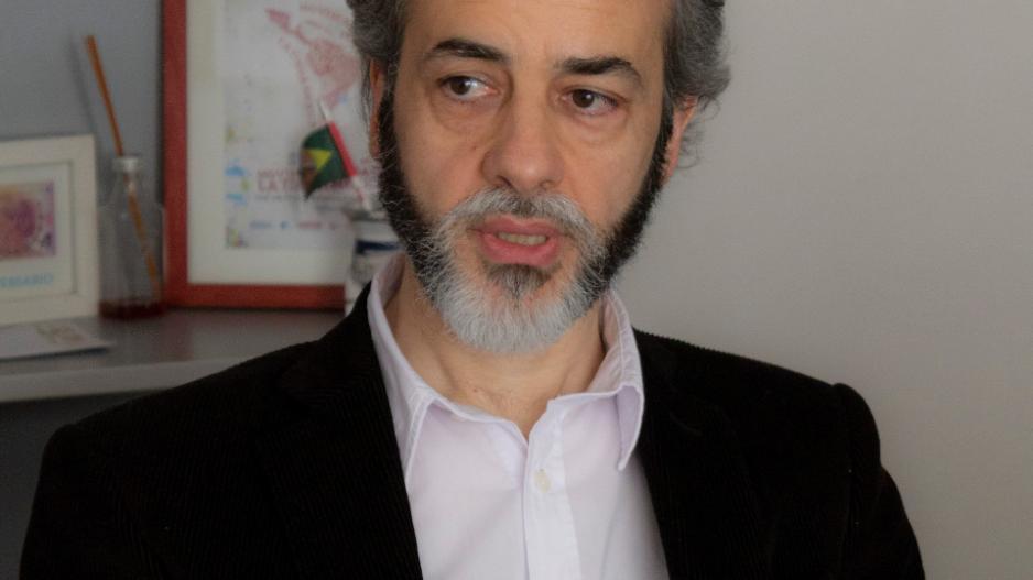 Edudardo López, secretario general de UTE