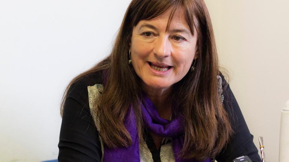Estela Díaz, secretaria de Género e Igualdad de la CTA