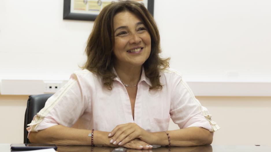 Angélica Graciano, secretaria general de UTE
