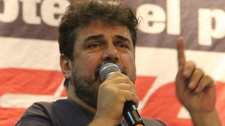 Roberto Pianelli, Secretario General de la Asociación Gremial de Trabajadores del Subterráneo y Premetro